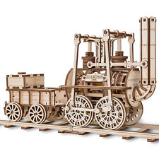 Eco Wood Art Wooden Models: Lokomotive Nr. 1