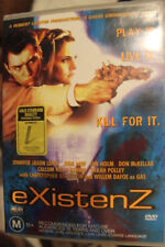 EXISTENZ CULT RARE OOP DELETED DVD R4 PAL JUDE LAW DAVID CRONENBERG HORROR FILM