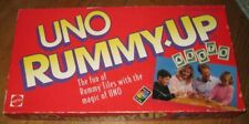 1993 UNO RUMMY,UP BY MATTEL GAMES COMPLETE IN GOOD CONDITION