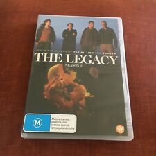 THE LEGACY DVD. SEASON 2. MISSING DISC 1. DISC 2 AND 3 ARE THERE