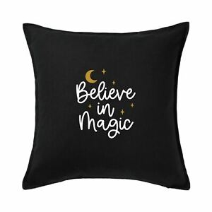 Believe in Magic Cushion Cover, Gothic Cushion Cover, Gothic Home Decor