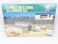 HO Walthers 933-3057 Walton & Sons Lumber Building Kit Trees & Trains SEALED
