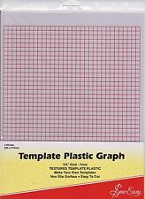 Sew Easy Plastic Graph Template 280mm x 215mm