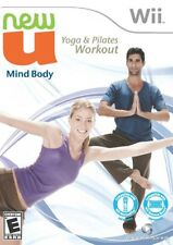 Newu Fitness First Mind Body Yoga Pilates Workout Wii Game