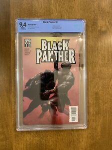 Marvel Black Panther (2005) #2 CBCS Graded 9.4 - FIRST SHURI!
