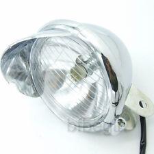 "Universal 5""Motorcycle Headlight Head Bulb Lamp CHROME Motorbike Waterproof 12V"