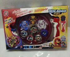 XD168-1 Battle Tops Beyblade Combat Rapidity Spinning Tops With Grip Launcher