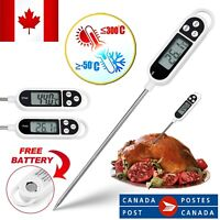 Digital Food Thermometer Temperature for Cooking Oil Milk with Super Long Probe