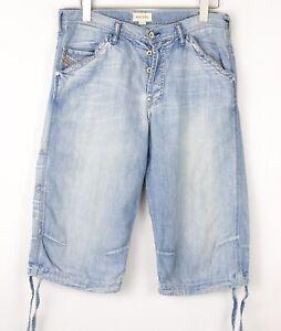 DIESEL Men Casual Denim Bermuda Shorts Size W33 BDZ1337