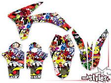 KTM SX F EXC-F SMR 125 250 300 350 450 Dekor FULL decal KIT grafiche graphique