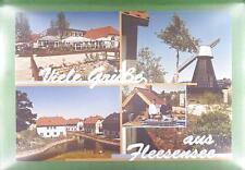 CPA Germany Flesensee Windmill Moulin a Vent Windmühle Wiatrak Hotel w12