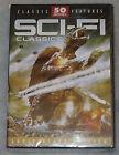 SCI-FI CLASSICS 50 Ciencia Ficción PELICULAS DVD caja HERCULES KONG Sangre tide