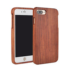 iPhone 7 Plus Case Bamboo/Rosewood Wood Back Cover