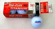 Cintas Logo - Top Flite Xl 90 - Titanium Gold Balls - Sleeve of 3