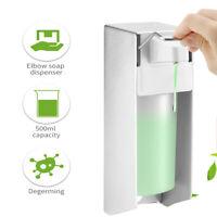 500 ML Seifenspender Wandmontage Desinfektionsmittelspender Bügel-Mechanik