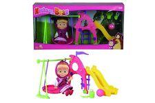 Disney Masha and Bear Playground Ages 3+ Toy Girls Play Gift Simba Doll House