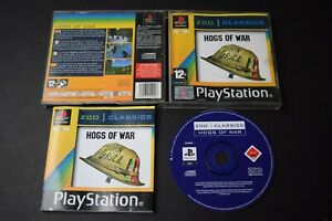 Hogs Of War Game PlayStation One PS1 Good Condition Manual Inc UK PAL