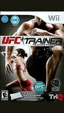 Ufc Personal Trainer: The Ultimate Fitness System Nintendo Wii, 2011 con guantes