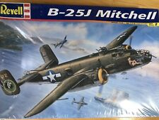 Revell B-25J Mitchell U.S. WWII Bomber 1/48 Scale Model Kit , SEALED
