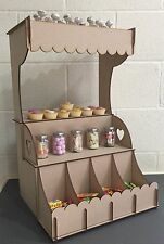 Y80 MACARON STAND WEDDING Day Stand Sweet Candy Cart Display STORAGE Unit Shelf