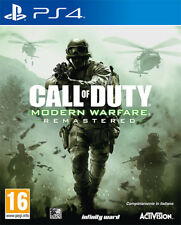 Call Of Duty Modern Warfare Remastered PS4 Playstation 4 IT IMPORT