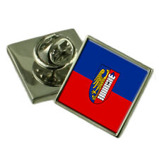 Gliwice City Poland Flag Lapel Pin Badge Pouch