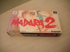 >> MADARA 2 II KONAMI RPG SFC SUPER FAMICOM IMPORT BRAND NEW OLD STOCK! <<