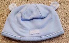SWEET! NEW BABY GAP PREEMIE UP TO 7LBS BLUE EARS CAP HAT REBORN