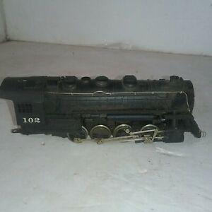 Vintage HO Steam Locomotive As Is - For Parts or Restoration