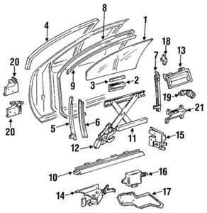 Genuine GM 1988-1997 Buick Cadillac Chevrolet Oldsmobile Window Motor 19152024