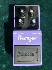 Johnson Flanger Guitar Effect Pedal - in Box, Perfect Condition