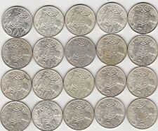 20 x Royal Australia Mint 1966 Silver Round 50 Cent Coins in coin holder item 20
