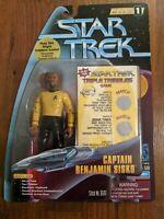CAPTAIN BENJAMIN SISKO Star Trek Deep Space Nine 1997 Warp Factor Playmates