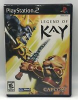 Legend of Kay (Sony PlayStation 2, 2005) Original Black Label Complete