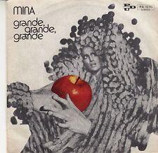 """45 T SP MINA """"GRANDE GRANDE GRANDE""""  (MADE IN ITALY)"""