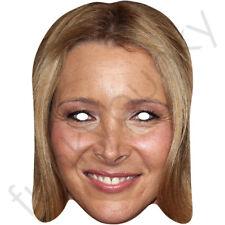 Amigos-Phoebe Lisa Kudrow Celebridad Tarjeta Máscara-todas nuestras máscaras son pre-Cut! ***
