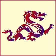 DRAGON - JAPANESE STENCIL DESIGNS - CHINESE DRAGON - The Artful Stencil