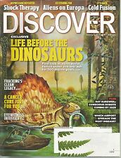 Discover November 2012 Fracking/Eyewitness Injustice/Europa/Shock Therapy