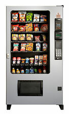 Ams Candy/Chip & Snack Vending Machine Gray/Black, 45 Select w/Coin & Bill Mech