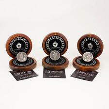 2015 3 Coin Set - 6 oz .999 Silver Viking Series by Scottsdale Mint
