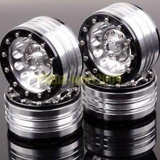 """RC 1.9"""" Beadlock Aluminum Wheel Rim 1060 For 1/10 Rock Crawler Axial SCX10 D90"""
