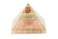 Orgonit Pyramide Rosenquarz Blume 455