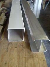 5X5 Vinyl PVC Post Stiffener Aluminium Insert for bollards gate sign light fence