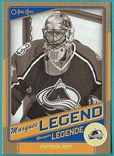 2012-13 O-Pee-Chee Marquee Legends Gold card #G3 of Patrick Roy