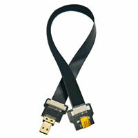 FPV Micro HDMI Male to Micro Hdmi Female Flat Cable Cord For Aerial Photography