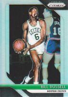 2018-19 Panini Prizm Basketball Silver Parallel #25 Bill Russell Boston Celtics