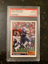 1991 Upper Deck Football #401 BARRY SANDERS.........PSA 10!