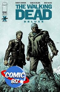 WALKING DEAD DELUXE #7 (2021) 1ST PRINTING FINCH & MCCAIG MAIN COVER A