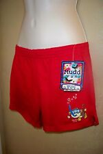 Mudd Red frog snorkeling soft shorts girls Large 14 NWT