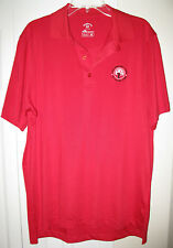 MENS MONTEREY CLUB POLO SHIRT $56. DRY SWING MOISURE WICKING SIZE MEDIUM IN RED